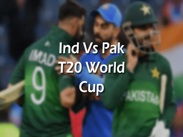 India Vs Pakistan T20 World cup match watch online